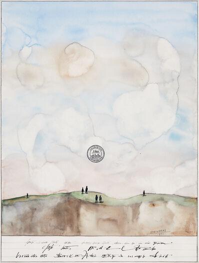 Saul Steinberg, 'Mesa with Figures', 1971