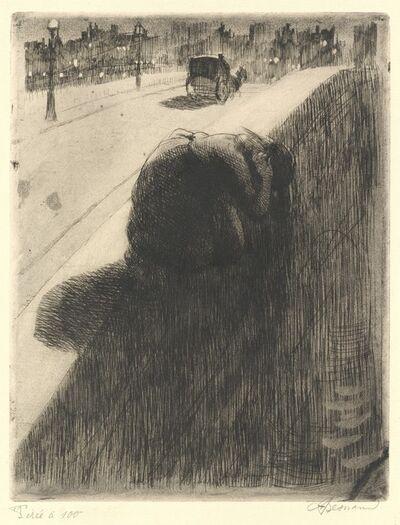 Albert Besnard, 'The Suicide (Le Suicide)', ca. 1886
