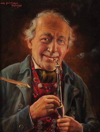 Otto Kirshner, 'Smoking Pipe'