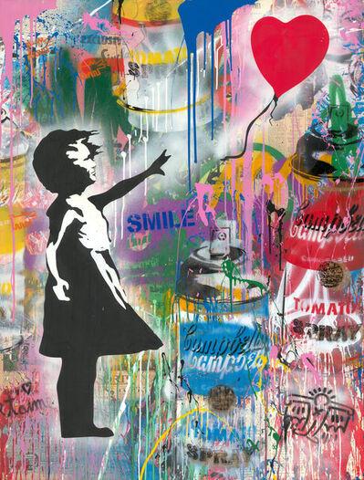 Mr. Brainwash, 'Balloon Girl Medium', 2019