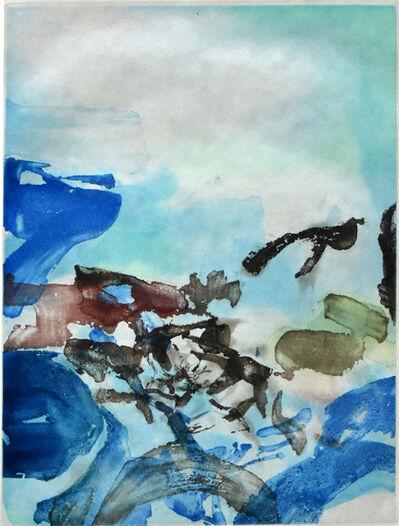 Zao Wou-Ki 趙無極, 'Composition I, from Rambles   Randonnées', 1974