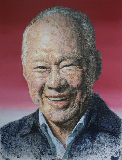 Ren Jian Hui, 'Potrait of Mr Lee - 李光耀了巨人永在'