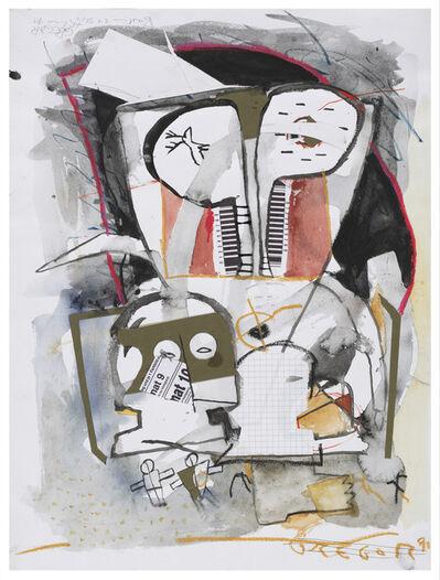 Gregor Hiltner, 'Der seltene Brunftschrei eines Wolpertinger', 1991