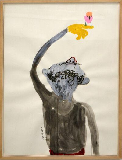 Wang Yuping, 'Bird & Man', 1998