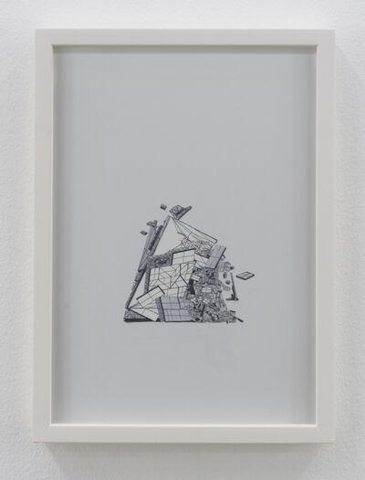 Nazgol Ansarinia, 'Untitled, Demolishing buildings, buying waste', 2018