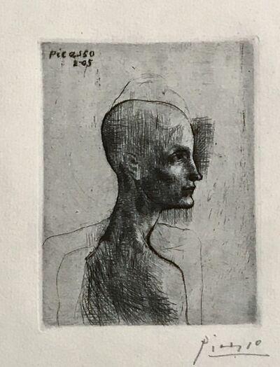Pablo Picasso, 'Buste d'homme', 1905 (February-Paris)