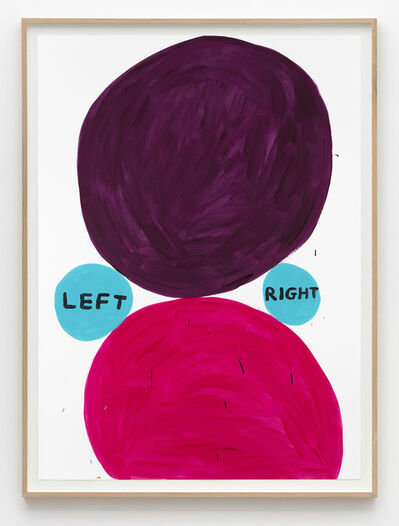 David Shrigley, 'Untitled (Left right)', 2015
