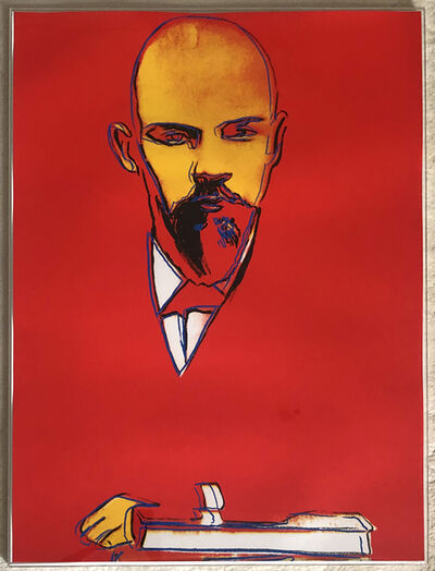 Andy Warhol, 'Red Lenin F&S II.403', 1987