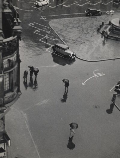 Elisabeth Hase, 'Street from Above', 1931