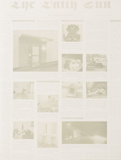 Elmgreen & Dragset, 'Two Works: Classifieds; International News', 2014 / 2014