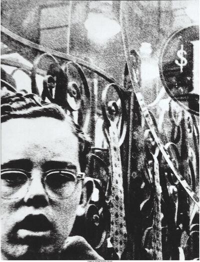 William Klein, 'Boy + 1$, New York', 1955