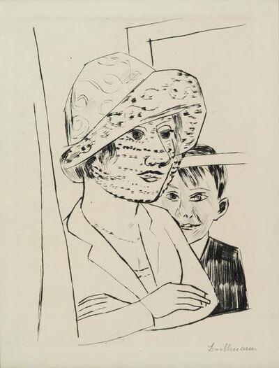 Max Beckmann, 'Liebespaar II (Lovers II), 1918-1919'