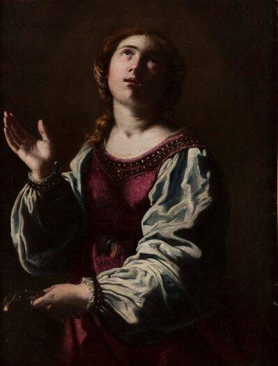 Artemisia Gentileschi, 'Santa Apolonia', ca. 1642