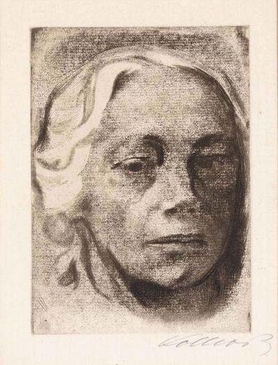 Käthe Kollwitz, 'SELBSTBILDNIS (KLIPSTEIN 122; KNESEBECK 126)', 1912