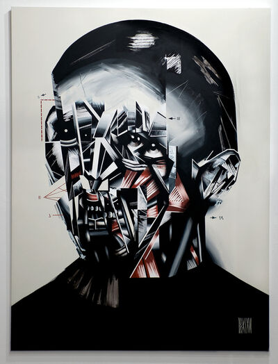 Bohdan Burenko, 'HEAD No. 5', 2016