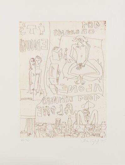 Elke Krystufek, 'It's Enough', 1995