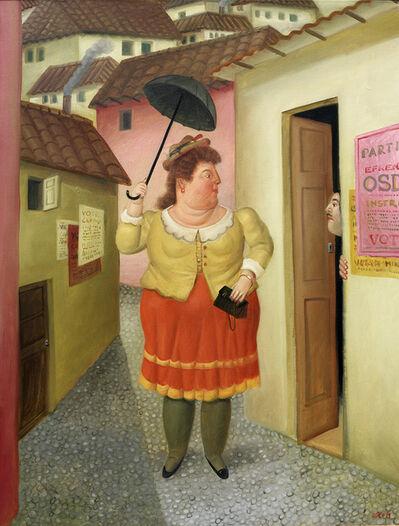 Fernando Botero, 'The Street ', 1989