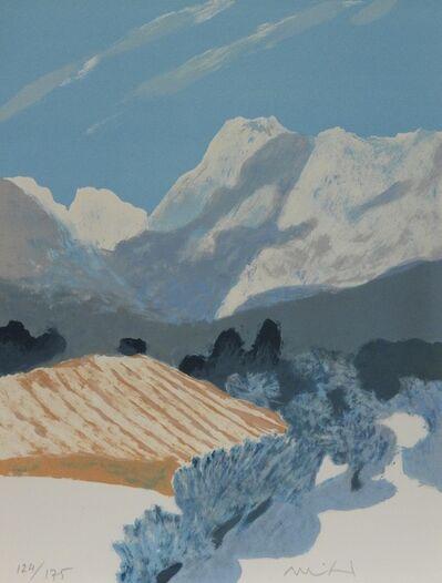 """Roger Muhl, 'PROVENCE V """"Au midi, la-bas une barre d montagnes...""""', 1986"""