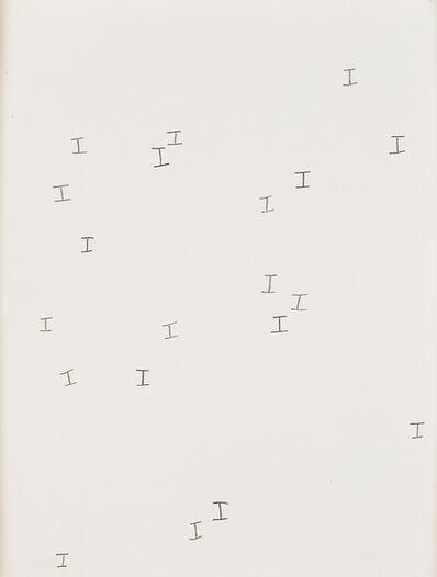 Jack Pierson, 'I, I, I, I...', 1990