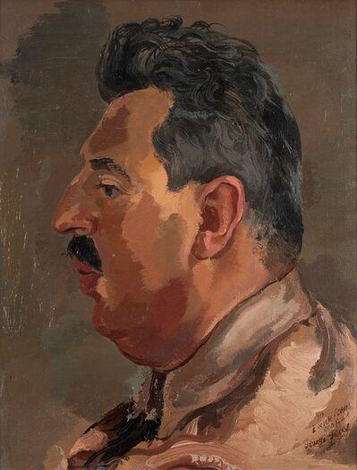 George Grosz, 'Erich Cohn portrait', 1937