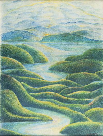 Gerardo Dottori, 'Paesaggio Umbro', ages '40