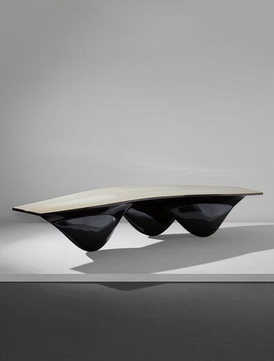 "Zaha Hadid, 'Black ""Aqua"" table', 2006"