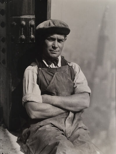 Lewis Wickes Hine, 'Worker, Empire State Building', ca. 1930