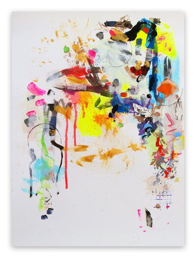 Gina Werfel, 'Flourish (Abstract Expressionism painting)', 2016