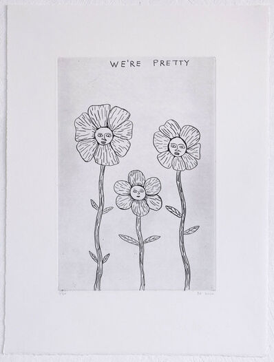 David Shrigley, 'We're Pretty', 2020