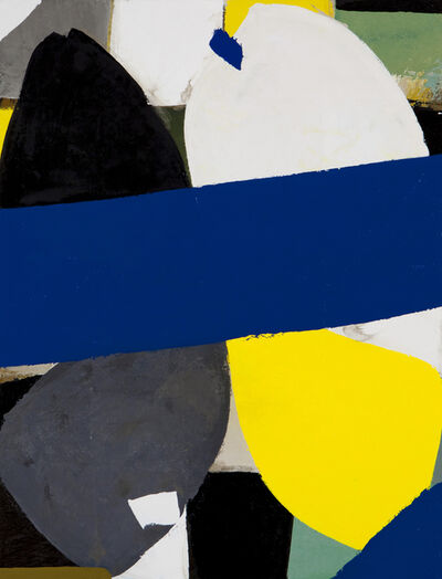 Gabriele Cappelli, 'Composition with Blue Figures 2015', 2015