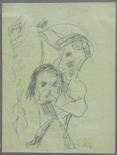 Hans Richter, 'Cabaret Voltaire', 1916