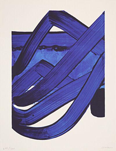 Pierre Soulages, 'Sérigraphie No. 18', 1988