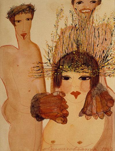 Carol Rama, 'Appassionata (Impassioned)', 1943