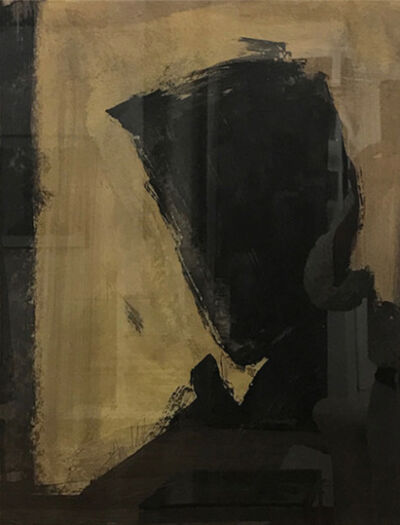 Richard Hambleton, 'Untitled (Shadow Head)17', 2005