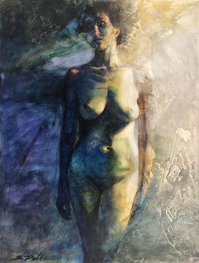 Steven DaLuz, 'Blue Nude 819', 2019