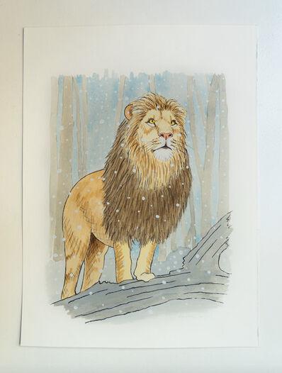 Sean Landers, 'Lion in Winter 2', 2020