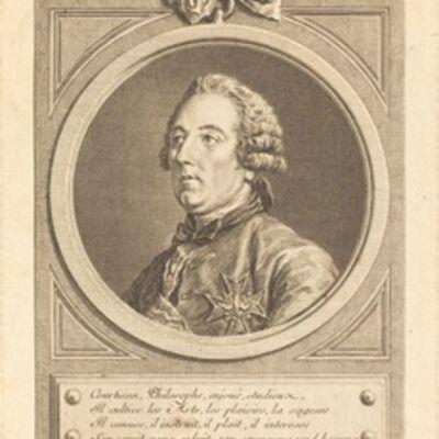 Charles-Nicolas Cochin II, 'Louis Cesar de La Baume-le-Blanc', 1757