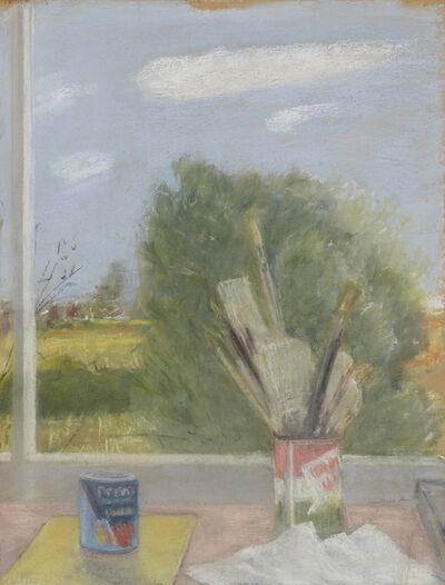 Jane Freilicher, 'Untitled (Studio Table and Landscape)', 1968