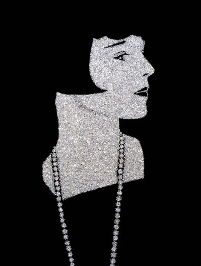 Vik Muniz, 'Louise Brooks (Pictures of Diamonds)', 2005