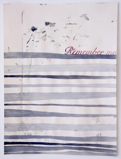 Julia Kuhl, 'Domestic Textiles Series, Remember Me', 2018