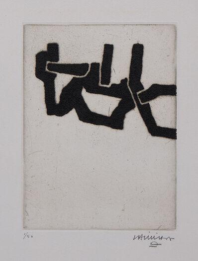 Eduardo Chillida, 'Burni Bizitu I', 1967