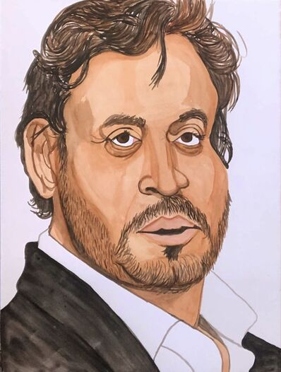 Rudy Shepherd, 'Irrfan Khan', 2020