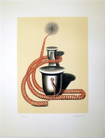 Konrad Klapheck, 'Der Auserwählte (The Chosen One)', 1981