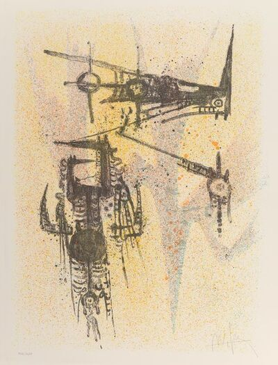 Wifredo Lam, 'Untitled, from the Flight Portfolio', 1967