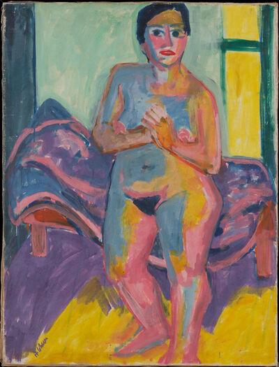 Hermann Scherer, 'Stehender Frauenakt'