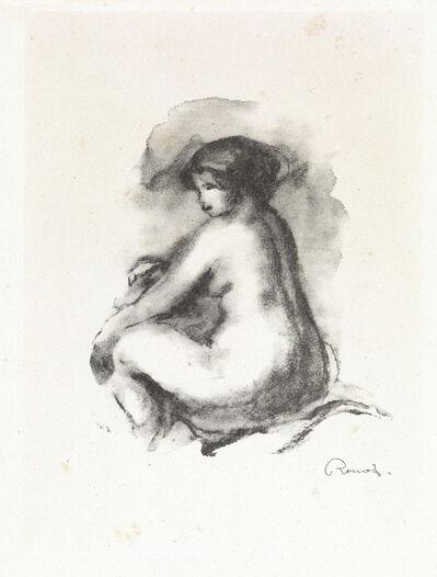 Pierre-Auguste Renoir, 'Étude de Femme Nue, Assise', 1904