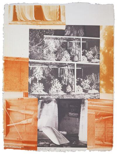 Robert Rauschenberg, 'Rookery Mounds - Masthead', 1979
