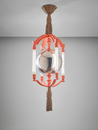 Sir Edwin Lutyens, 'Important and rare 'Mercury Ball' chandelier, designed for the Viceroy's House, New Delhi', circa 1930