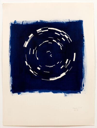 Annette Lawrence, 'Indigo February 2019', 2019