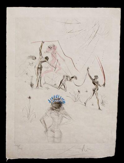 Salvador Dalí, 'La Venus aux Fourrures The Negresses', 1968